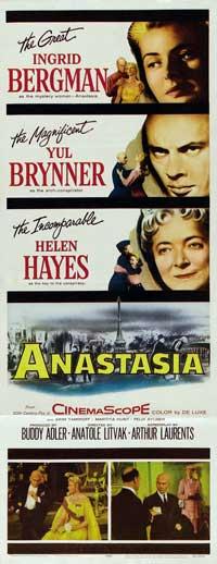 Anastasia - 14 x 36 Movie Poster - Insert Style A