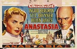 Anastasia - 11 x 17 Movie Poster - Belgian Style A