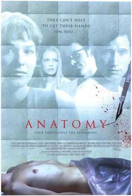 Anatomy - 11 x 17 Movie Poster - Style A