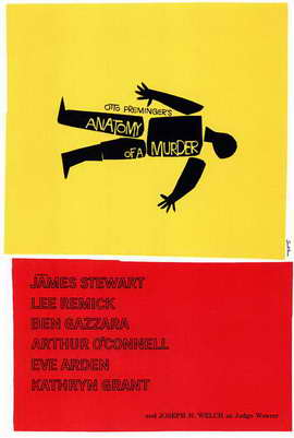 Anatomy of a Murder - 11 x 17 Movie Poster - Style A
