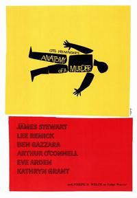 Anatomy of a Murder - 43 x 62 Movie Poster - Bus Shelter Style A