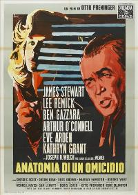 Anatomy of a Murder - 27 x 40 Movie Poster - Italian Style A