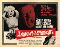 Anatomy of the Syndicate - 22 x 28 Movie Poster - Half Sheet Style A