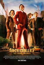 Anchorman 2: The Legend Continues - 11 x 17 Movie Poster - Style F