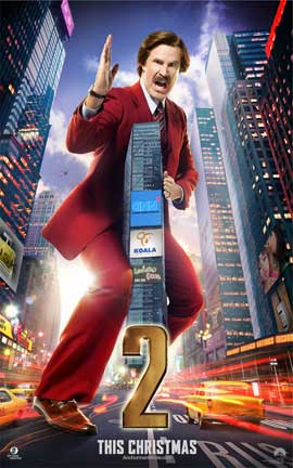 Anchorman 2: The Legend Continues - 11 x 17 Movie Poster - Style A