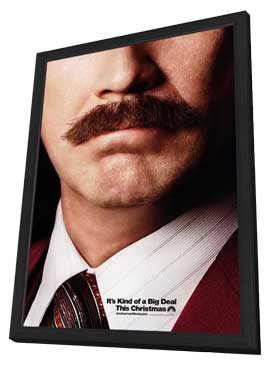Anchorman 2: The Legend Continues - 27 x 40 Movie Poster - Style A - in Deluxe Wood Frame