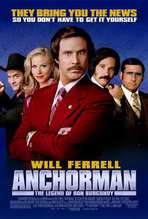 Anchorman: The Legend of Ron Burgundy - 27 x 40 Movie Poster