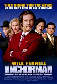 Anchorman: The Legend of Ron Burgundy - 11 x 17 Movie Poster - Style A - Double Sided