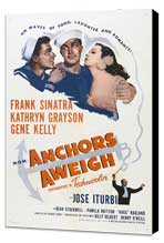 Anchors Aweigh - 11 x 17 Movie Poster - Style B - Museum Wrapped Canvas