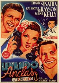 Anchors Aweigh - 11 x 17 Movie Poster - Spanish Style A