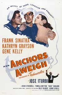 Anchors Aweigh - 43 x 62 Movie Poster - Bus Shelter Style A