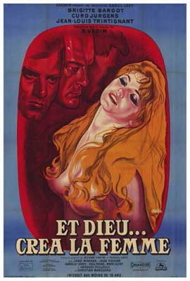 And God Created Woman - 27 x 40 Movie Poster - Foreign - Style A