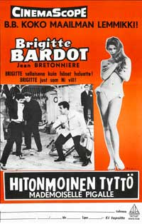 And God Created Woman - 11 x 17 Movie Poster - Danish Style A