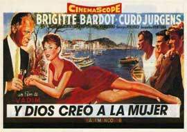 And God Created Woman - 27 x 40 Movie Poster - Spanish Style A
