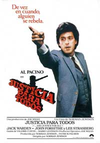 And Justice for All - 27 x 40 Movie Poster - Spanish Style A