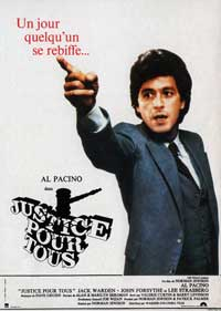 And Justice for All - 11 x 17 Movie Poster - French Style A
