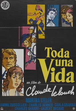 And Now My Love - 11 x 17 Movie Poster - Spanish Style A