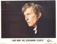 And Now the Screaming Starts - 11 x 14 Movie Poster - Style B