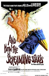 And Now the Screaming Starts - 43 x 62 Movie Poster - Bus Shelter Style A