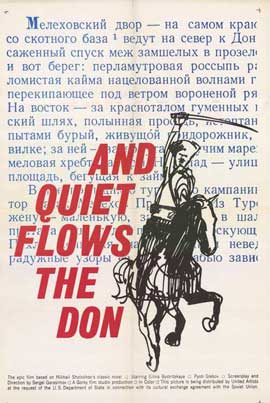And Quiet Flows the Don - 11 x 17 Movie Poster - Style A