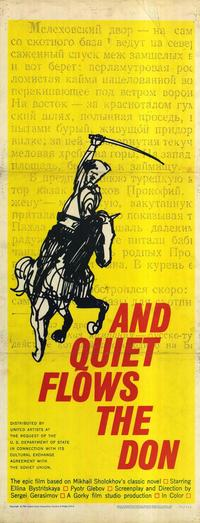 And Quiet Flows the Don - 14 x 36 Movie Poster - Insert Style A