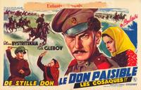 And Quiet Flows the Don - 11 x 17 Movie Poster - Belgian Style A