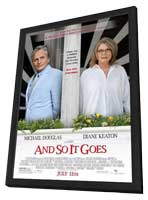 And So It Goes� - 27 x 40 Movie Poster - Style A - in Deluxe Wood Frame