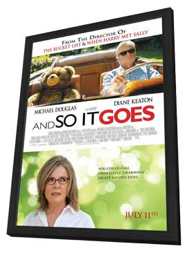 And So It Goes� - 11 x 17 Movie Poster - Canadian Style A - in Deluxe Wood Frame