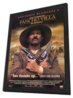 And Starring Pancho Villa as Himself - 11 x 17 Movie Poster - Style A - in Deluxe Wood Frame
