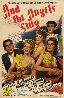 And the Angels Sing - 11 x 17 Movie Poster - Style A