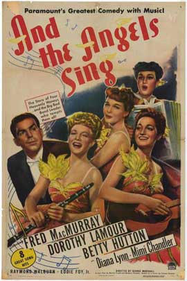 And the Angels Sing - 27 x 40 Movie Poster - Style A