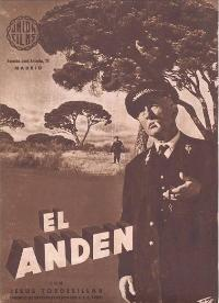 Andén, El - 11 x 17 Movie Poster - Spanish Style A