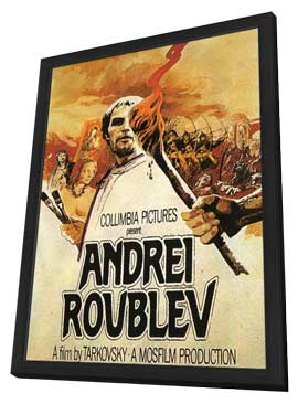 Andrei Rublev - 11 x 17 Movie Poster - Style B - in Deluxe Wood Frame