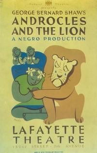 Androcles And The Lion (Broadway) - 14 x 22 Poster - Style A