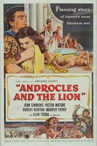 Androcles and the Lion - 27 x 40 Movie Poster - Style A
