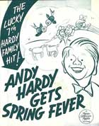 Andy Hardy Gets Spring Fever - 11 x 17 Movie Poster - Style A