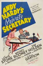 Andy Hardy's Private Secretary - 11 x 17 Movie Poster - Style B
