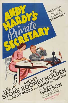 Andy Hardy's Private Secretary - 27 x 40 Movie Poster - Style A