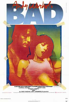 Andy Warhol's Bad - 11 x 17 Movie Poster - Style A