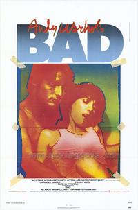 Andy Warhol's Bad - 43 x 62 Movie Poster - Bus Shelter Style A