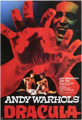 Andy Warhols Blood for  Dracula - 11 x 17 Movie Poster - Style B