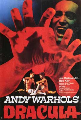 Andy Warhols Blood for  Dracula - 27 x 40 Movie Poster - Style B