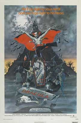 Andy Warhols Blood for  Dracula - 11 x 17 Movie Poster - Style D