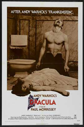 Andy Warhols Blood for  Dracula - 27 x 40 Movie Poster - Style A