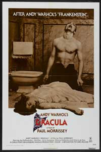 Andy Warhols Blood for  Dracula - 43 x 62 Movie Poster - Bus Shelter Style A