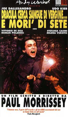 Andy Warhols Blood for  Dracula - 11 x 17 Movie Poster - Italian Style A