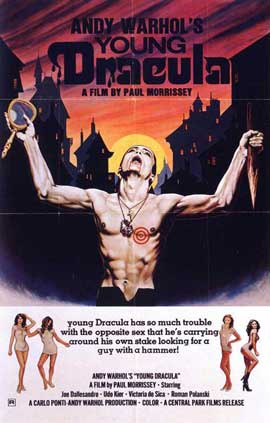 Andy Warhols Blood for  Dracula - 27 x 40 Movie Poster - Style D