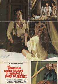 Andy Warhols Blood for  Dracula - 43 x 62 Movie Poster - Spanish Style A