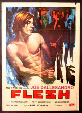 Andy Warhol's Flesh - 11 x 17 Movie Poster - Italian Style A