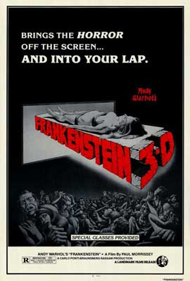 Andy Warhol's Frankenstein - 27 x 40 Movie Poster - Style A